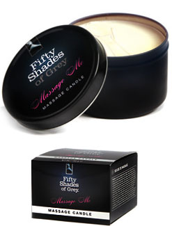 Official Fifty Shades Massage Oil Candle