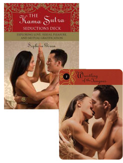 The 52 Sex Position Kama Sutra Playing Card Deck game has been classified ...