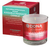 DONA Aphrodisiac Massage Oil Candles