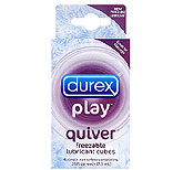 Durex Play Quiver- Freezable Lubricant Cubes