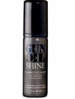 Gun Oil Shine Foaming Toy Cleanser