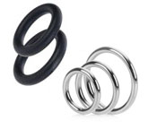 Harness Accessories- O-rings & Rings