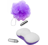 Body Spa Waterproof Vibrating Sponges