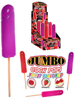 Lollicocks - Jumbo Fruit Flavor Cock Pops