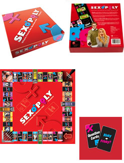 Sexopoly Adult Sex Game
