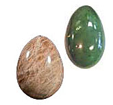 Stone Eggs for Kegel Exercise