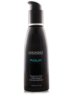 Wicked Aqua Waterbased Lubricant